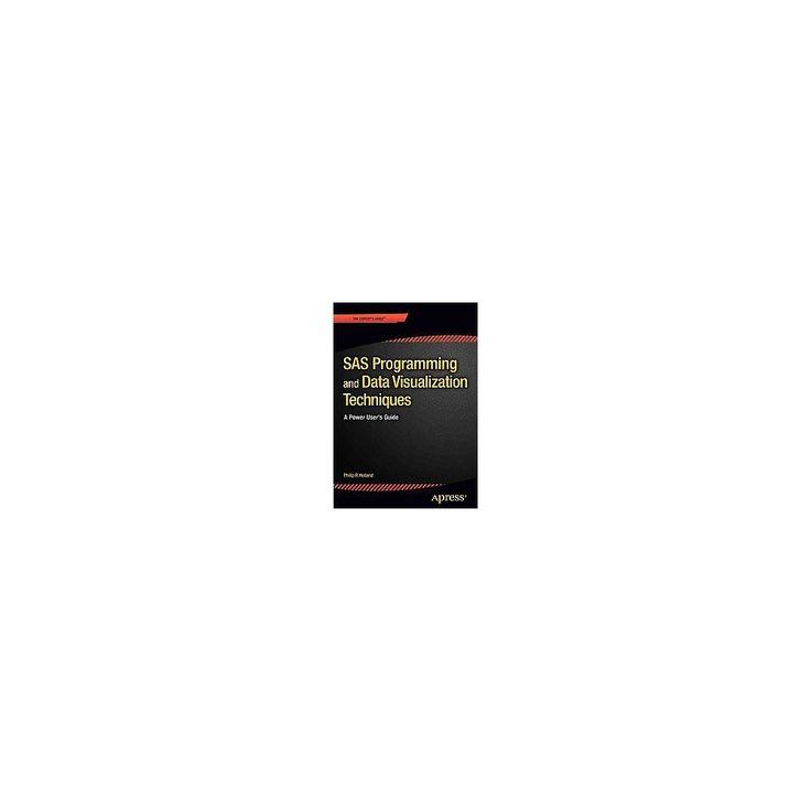 Sas Programming and Data Visualization T (Paperback)
