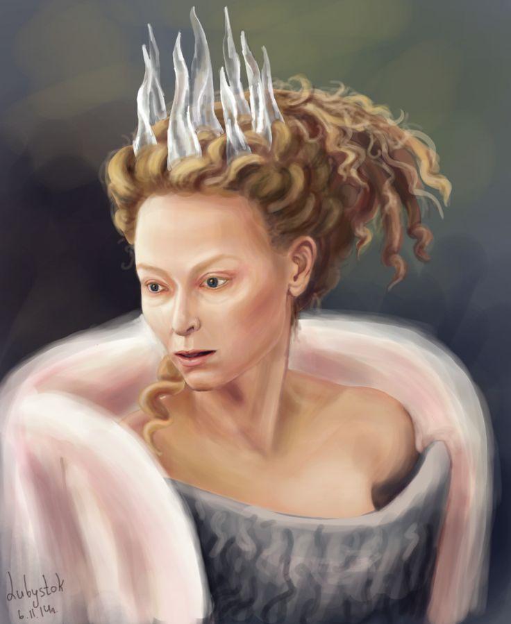Tilda Swinton - white witch - The chronicles of narnia
