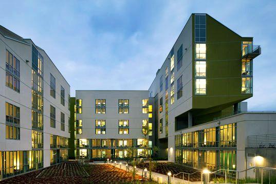 Ucsd Unveils Striking New Student Housing Building San