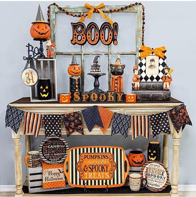 mais uma inspirao super bacana para o halloween por hobbylobby kikidsparty halloween party ideasvintage