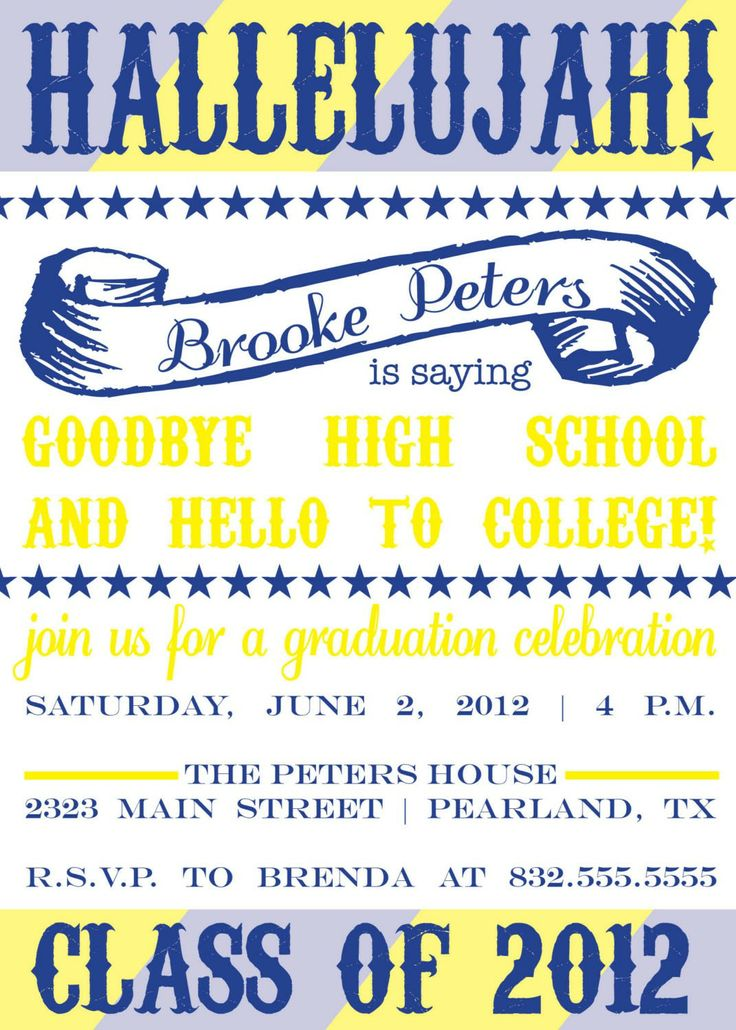 invitation cards for welcome party save themes printable graduation