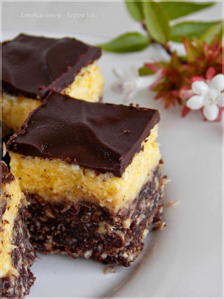 """...végre! :D Már olyan sokszor """"jött velem szembe"""" ez a sütemény; és mindannyiszor elhatároztam, hogy """"Na most! Most megcsinálom..."""