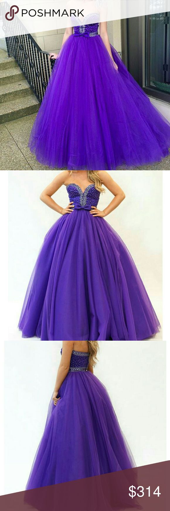 Sherri Hill Prom Dress Prom Gown Style 21367 AUTHENTIC SHERRI HILL PROM GOWN: Avoid online shopping nightmares by staying away from cheap prom dress knockoffs! This item is from a certified Sherri-approved retailer so you can rest assured knowing that you will be wearing a genuine designer prom gown at Prom2k17.    BRING ON THE BLING:  This strapless gown features a sweetheart cut. Beaded bodice with bow detail along the waistline. Full ball gown skirt with a zip up closure. Sherri Hill…