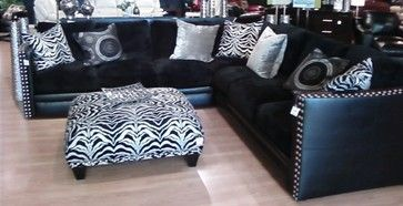 Living Rooms - eclectic - Sectional Sofas - Chicago - The Roomplace