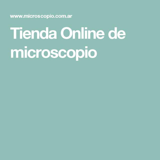 Tienda Online de microscopio