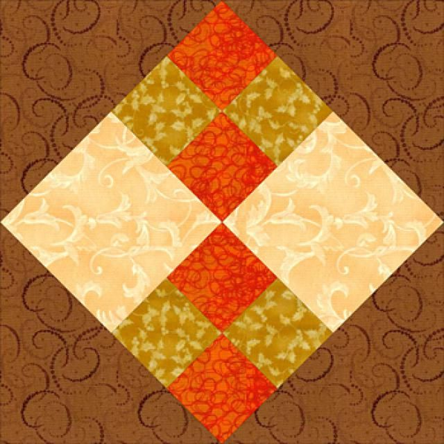 Sew Improved Four-Patch, an Easy Patchwork Quilt Block: Improved Four-Patch Quilt Blocks