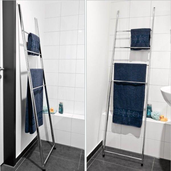 Les 25 meilleures id es de la cat gorie porte serviette Echelle salle de bain inox