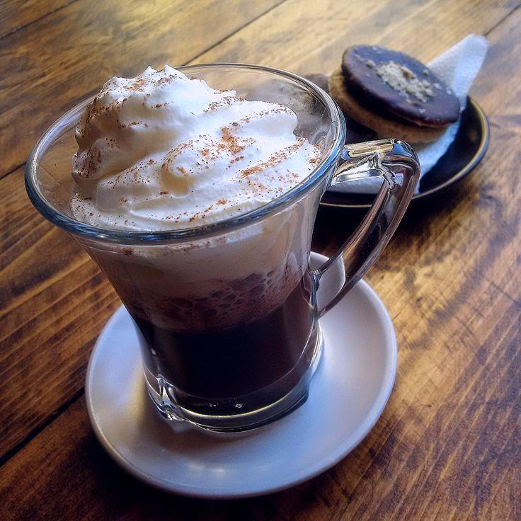 Coffee plus something sweet