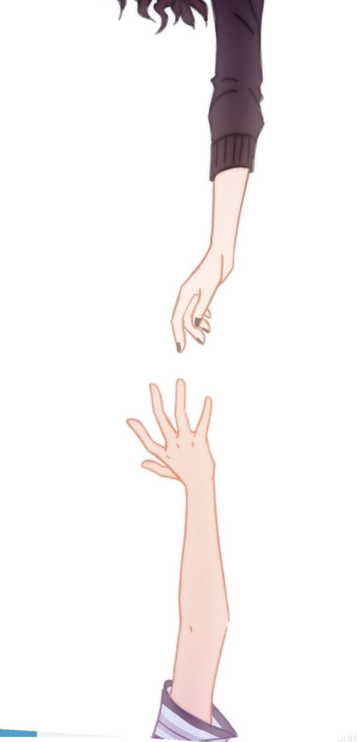 When you don't feel strong enough to stand, you can reach out your hand.