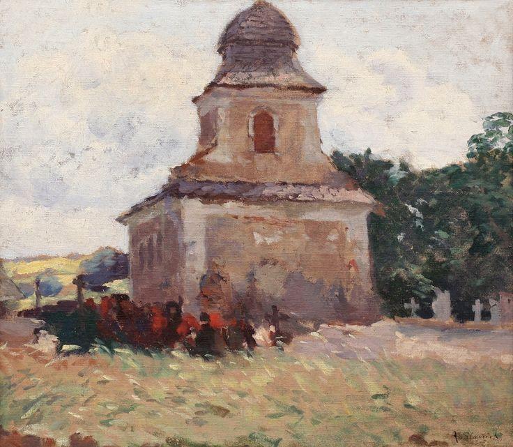 ANTONÍN SLAVÍČEK The Athenaeum - A Church in Kameničky (Antonín Slavíček - )