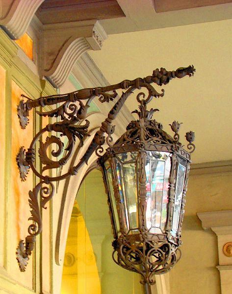 Street lamp in Barcelona