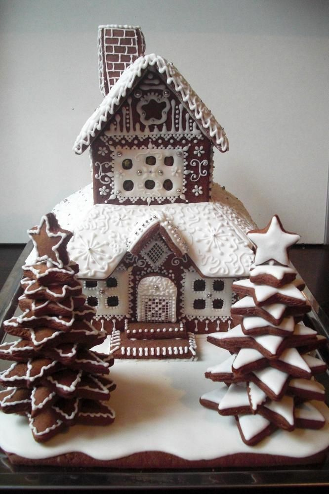 gingerbread tower | Cookie Connection