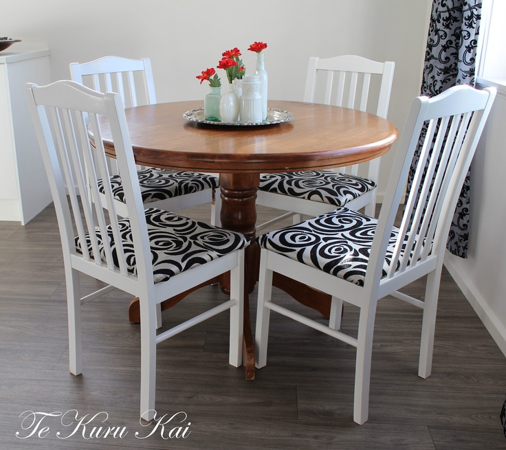 Revamping an old dining suite ....