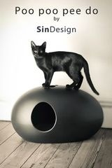 Poo Poo pee do. Cat litter box. By SinDesign...