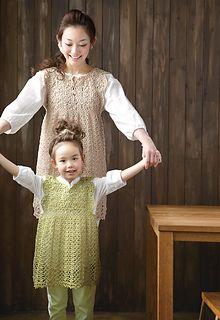 214ss-26 Motif Dress by Pierrot (Gosyo Co., Ltd) Mother Daughter set