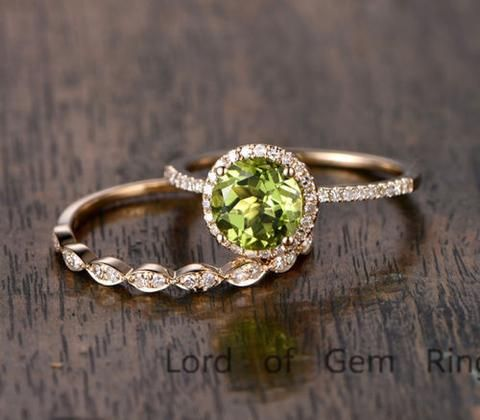 Best Peridot Engagement Rings Ideas On Pinterest August