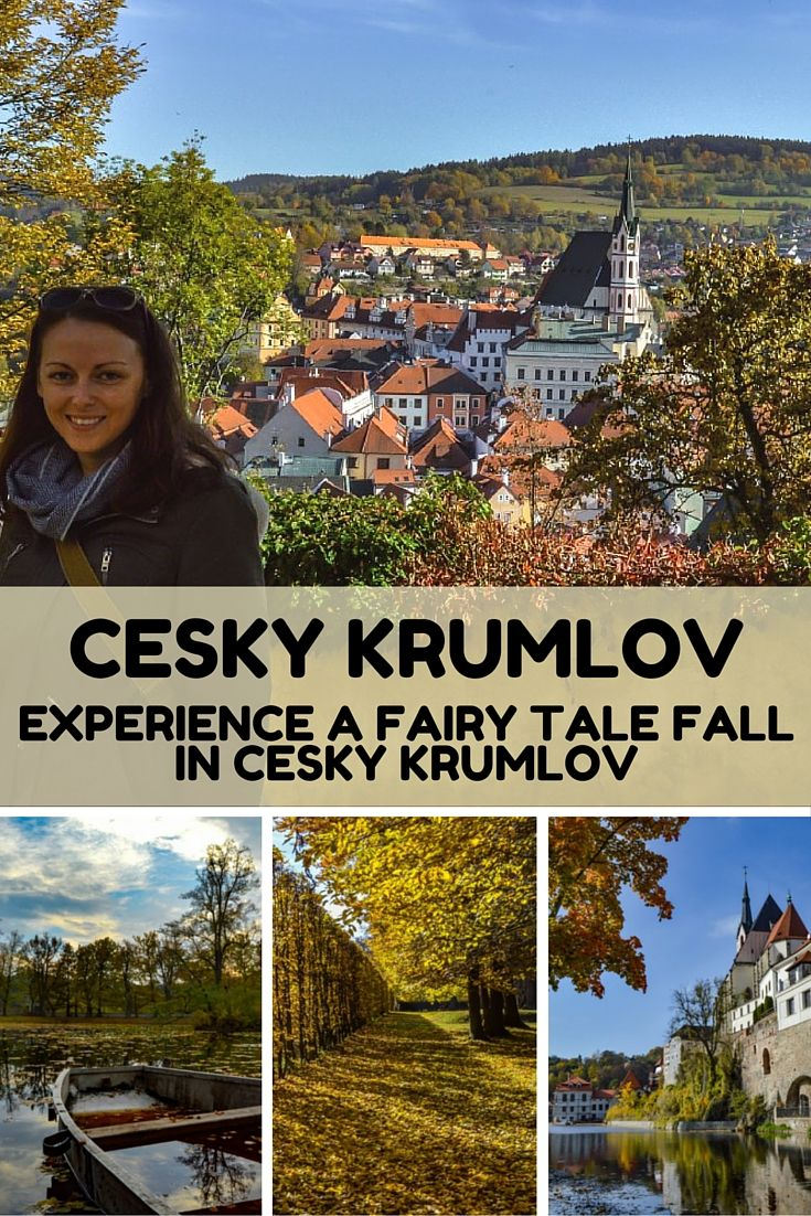 Experience a Fairy Tale Fall in Český Krumlov: Historic, pristine, and wonderfully picturesque, Český Krumlov is a must visit destination in the Czech Republic. Walk around the town in the spring or the summer and you'll swear you are walking through a fairy tale landscape. Fall's glorious burst of color adds another layer to the mystique and beauty of an already picturesque location.
