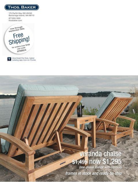 veranda chaise