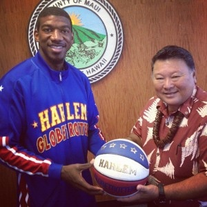 This Friday, May 11 – Harlem Globetrotters at War Memorial Gymnasium