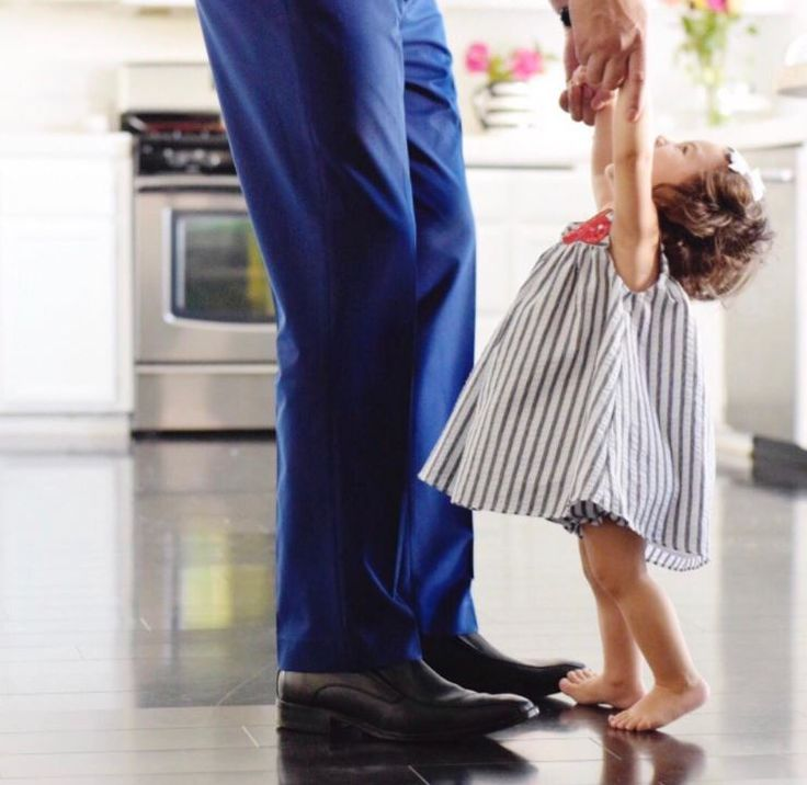 TheMotherLoad's husband wearing Skechers with his daughter