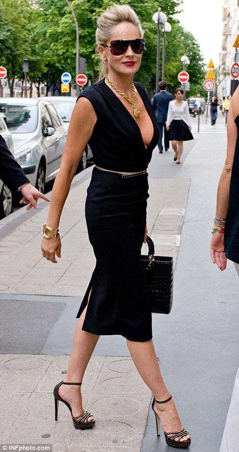 Sharon Stone, 56 ans et des jambes de rve : la preuve en