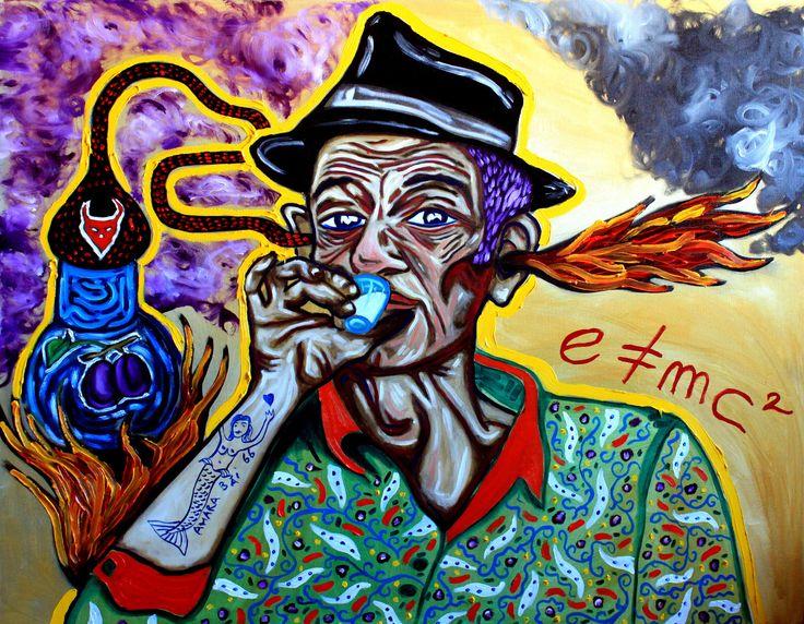Slibowitza, oil on canvas, 60/90cm, 2013