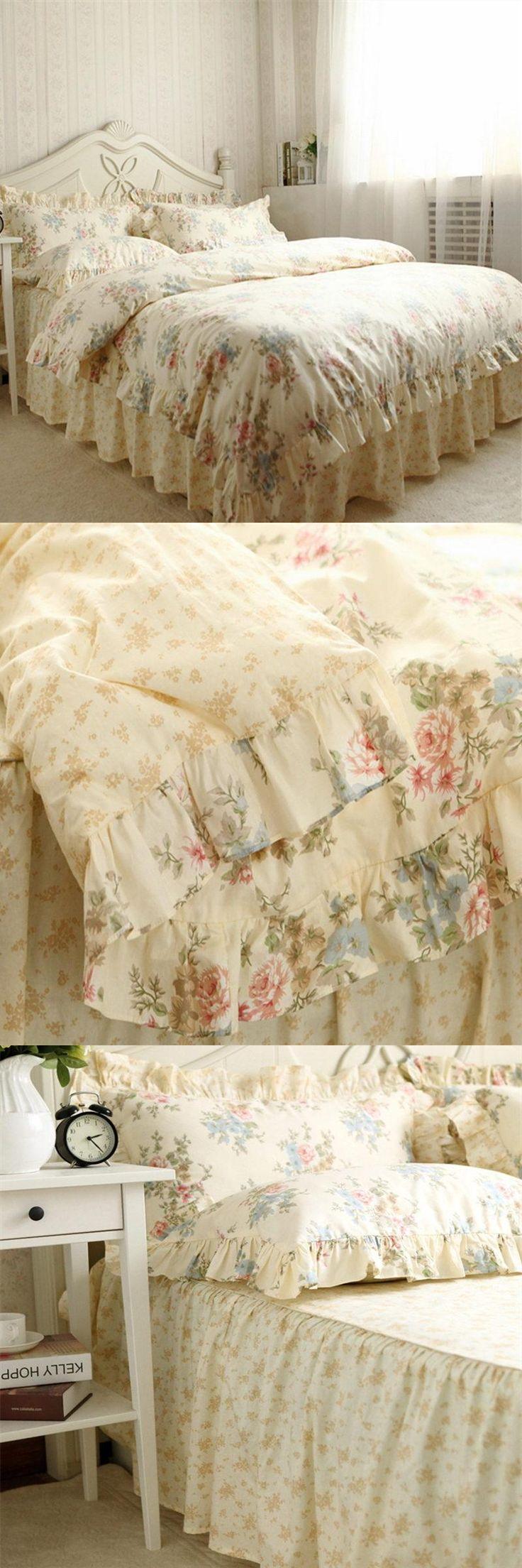 best 25+ ruffle bedspread ideas on pinterest | ruffle quilt
