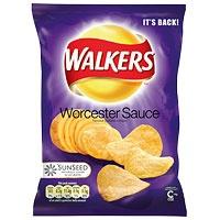 Wostershire Sauce Crisps