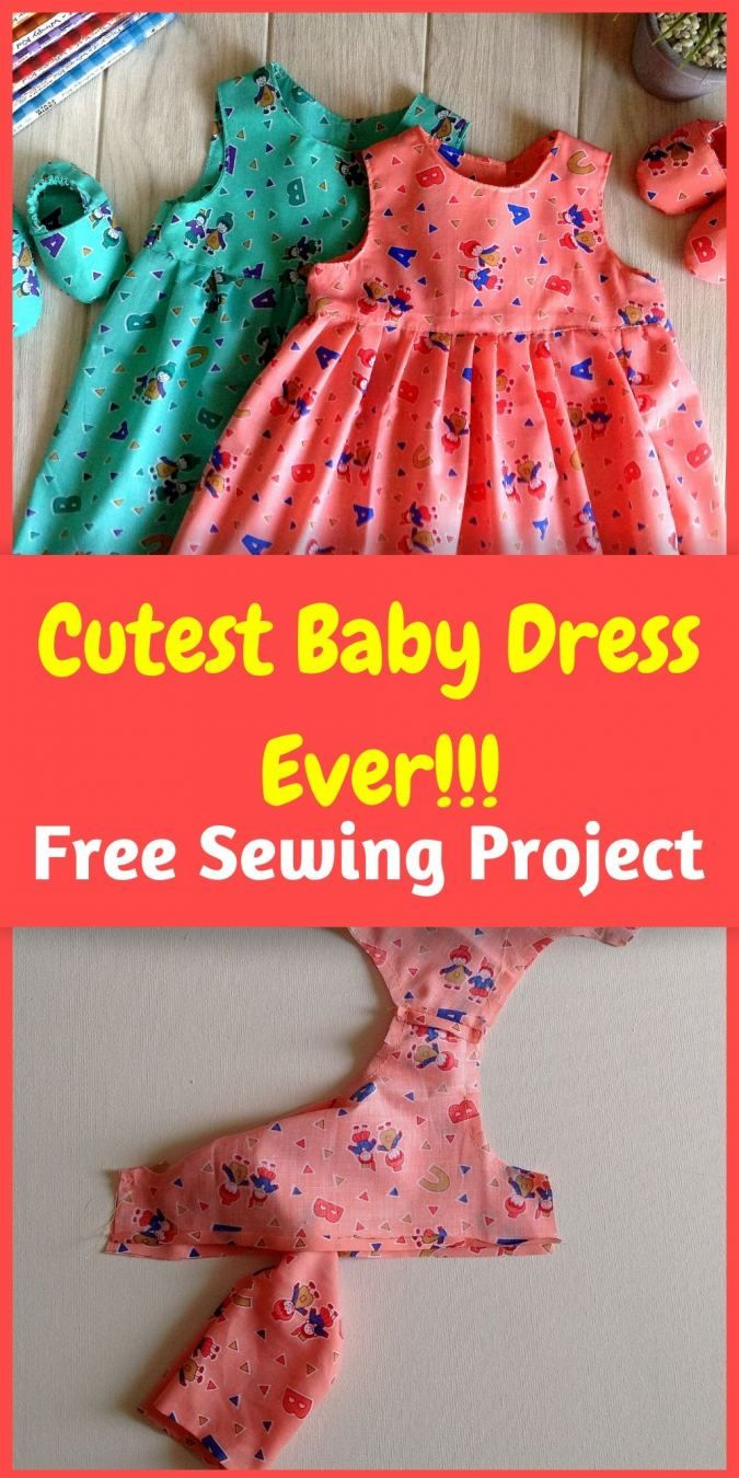 Baby Frock Sewing Tutorials : frock, sewing, tutorials, Dress, Sewing, Pattern, Clothes, Patterns, Sewing,, Patterns,, Frock