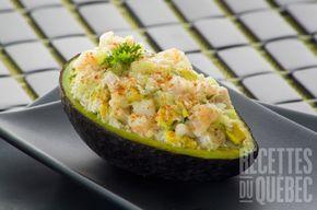 #Avocat farci aux #crevettes #recettesduqc