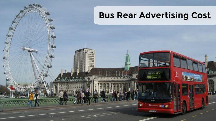 Bus Rear Advertising Cost