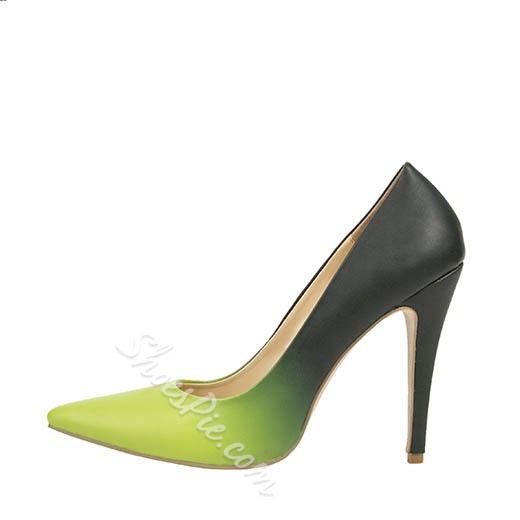 ea9759095e9 Patent Gradually Changing Color Stiletto Heels