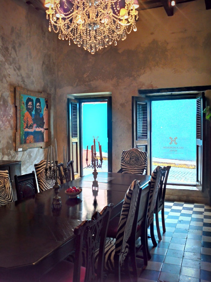 villa herencia hotel in old san juan puerto rico bed and