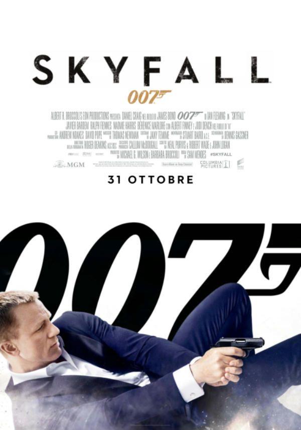 007 Skyfall, in onda su Sky Cinema 24 il 14 luglio alle 21:10.