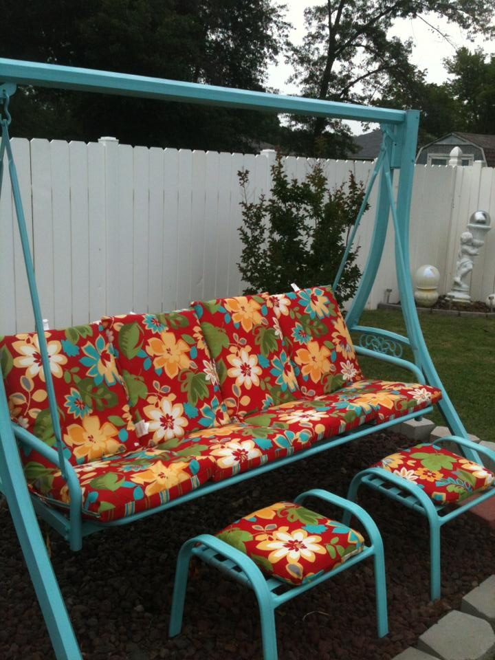 1000 Images About Old Yard Swing Makeover On Pinterest