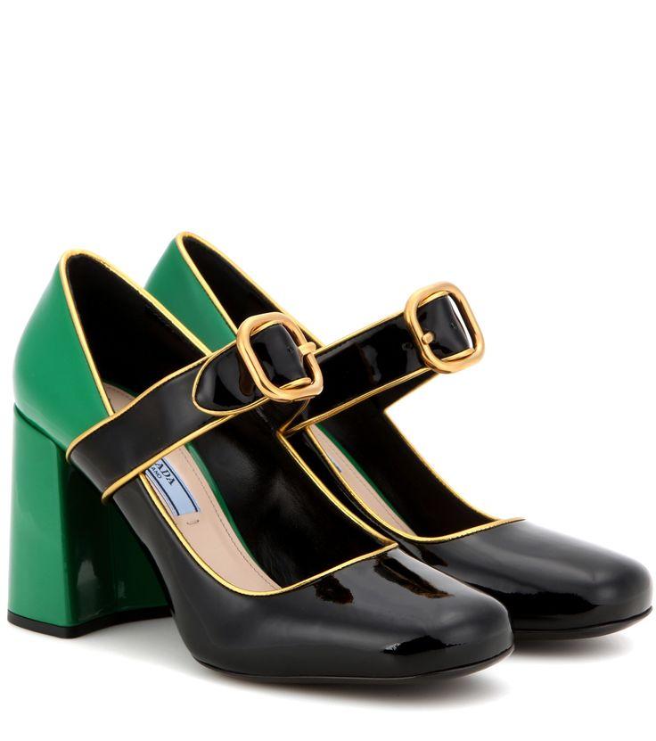 Pumps & High Heels for Women On Sale, Black, Calfskin Leather, 2017, 5.5 7.5 Prada