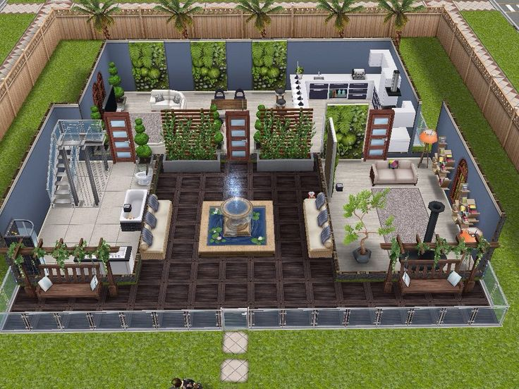 House 4 Ground Level #sims #simsfreeplay #simshousedesign