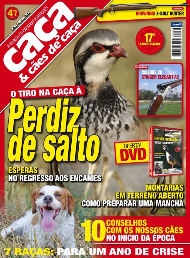 Caça & Cães de Caça Issue No.204 edition - Read the digital edition by Magzter on your iPad, iPhone, Android, Tablet Devices, Windows 8, PC, Mac and the Web.