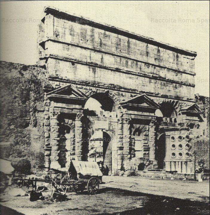 Porta Maggiore e il sepolcro di Eurisace Anno: 1880