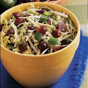 Grape and Cabbage Salad