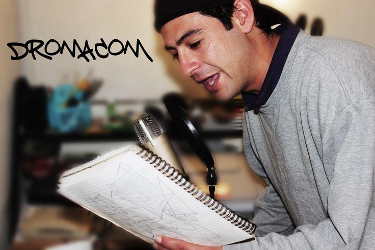 Amigazo Mío Grabando en mi Hose! #Domacrom Lucho Meza, Rancagua City Rap Chilensis