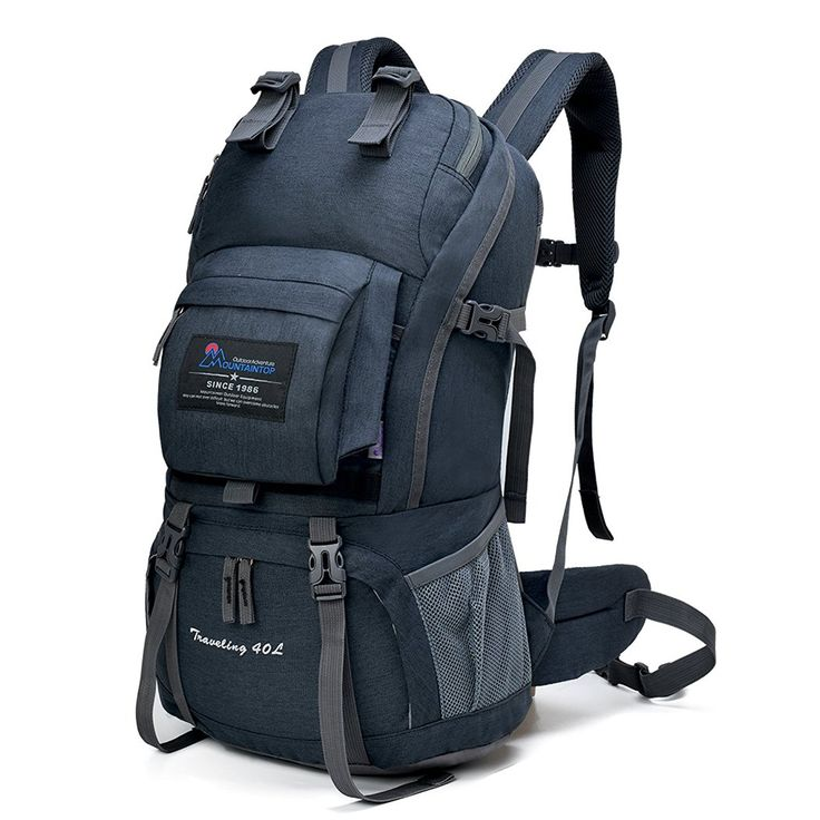Amazon | マウンテントップ(Mountaintop)アウトドア 登山 旅行 40L ハイキング クライミング スクール バックパック デイバック 撥水-M5812II | マウンテントップ(Mountaintop) | 登山リュック・ザック