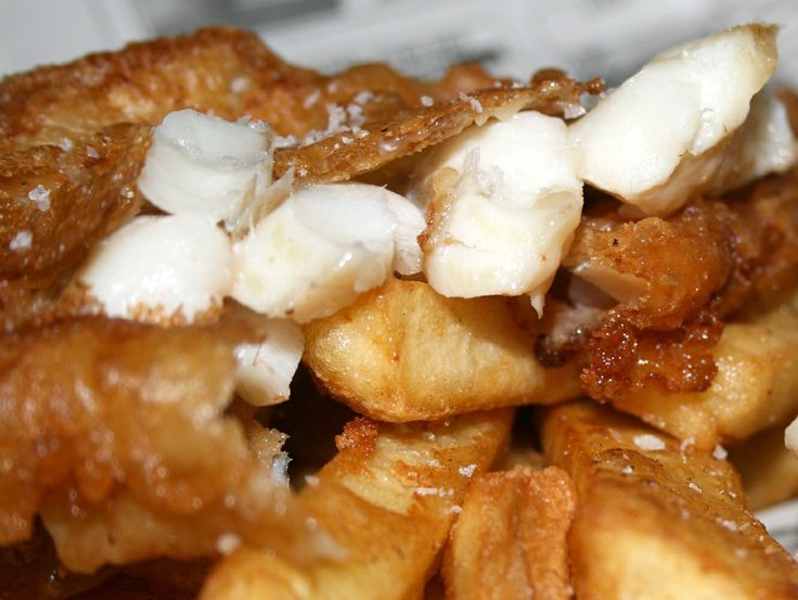 Jackson Pollock and Chips … (Beer Battered Fish and Chips Recipe)  – Junk – #B… – Easy Fish Recipes