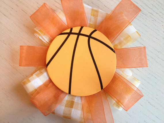 Basketball lover BOW hair accessories or for pet on Etsy, $8.00 CAD