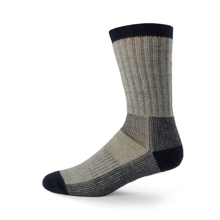 Minus33 Merino Wool Day Hiker Sock, Denim Heather, Large. QUALITY MERINO WOOL SOCKS: 85% Merino Wool. Super soft and comfortable. Machine washable and dryable. Naturally antimicrobial and moisture wicking means no sticky feat. Great for everyday wear, hiking, walking, camping. CRAFTED TO FIT: Size S - XL Full plush wool cushioning throughout arch. Impact areas reinforced with durable nylon. Seamless toe creates a more comfortable fit on the foot, and prevents blisters from forming where…