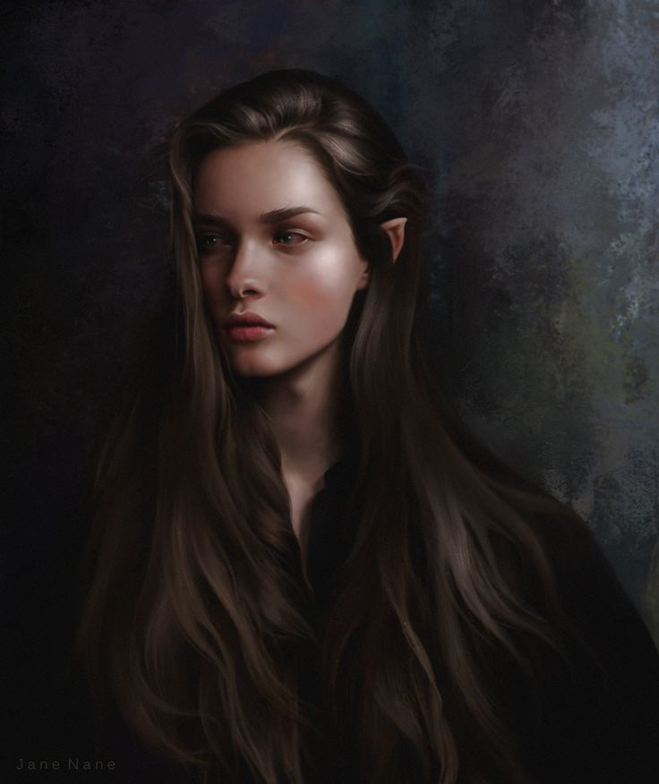 ArtStation - Elf, Jane Nane