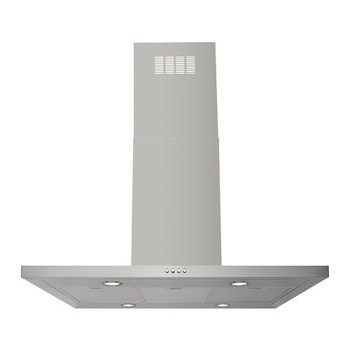 Unique SV VANDE Afzuigkap voor plafondmontage IKEA Gratis jaar garantie Raadpleeg onze folder voor de garantievoorwaarden