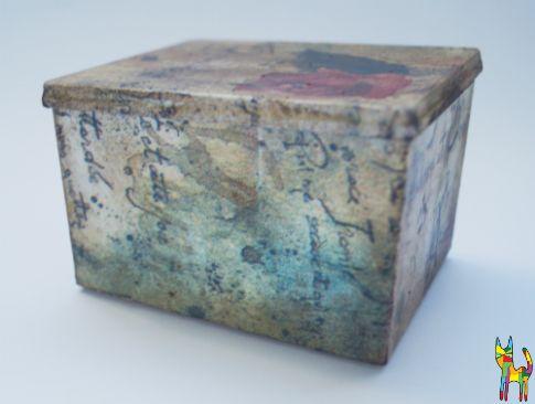Decoupage style box #diy #zróbtosam