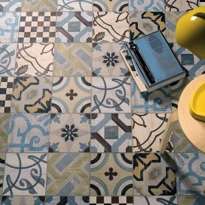 Fioranese pavimenti ceramica cementine 20 cucina for Boden mit schrift