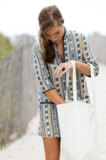Love this but $238 for a beach tunic thats going to get sweaty, sandy and covered in sunscreen?! I rreeeeeeaally need to learn how to sew...